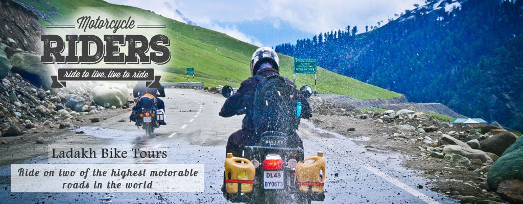 Leh Ladakh Bike Trip Green Kashmir Travels